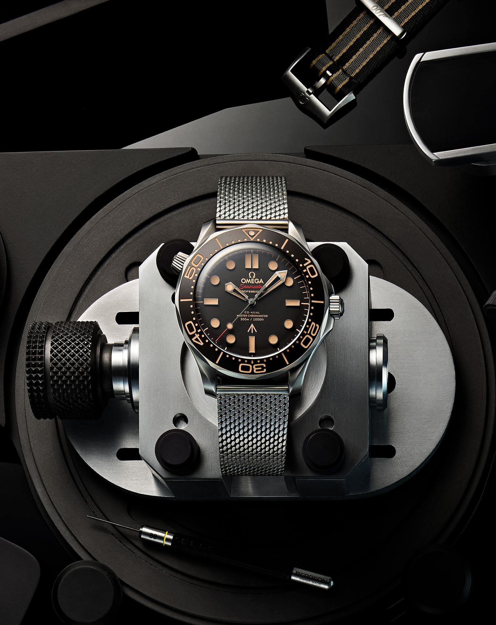Omega svela il nuovo orologio Seamaster Diver 300M dedicato
